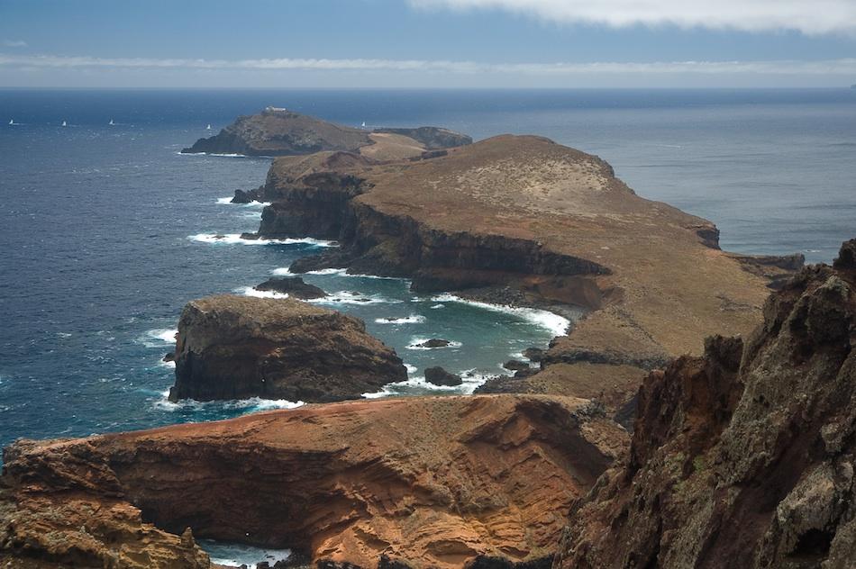La península de São Lourenço