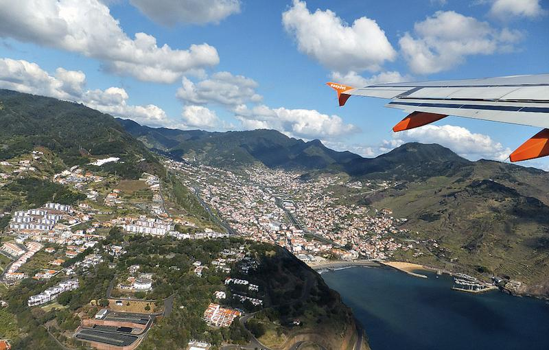 Aeropuerto de Funchal en Madeira