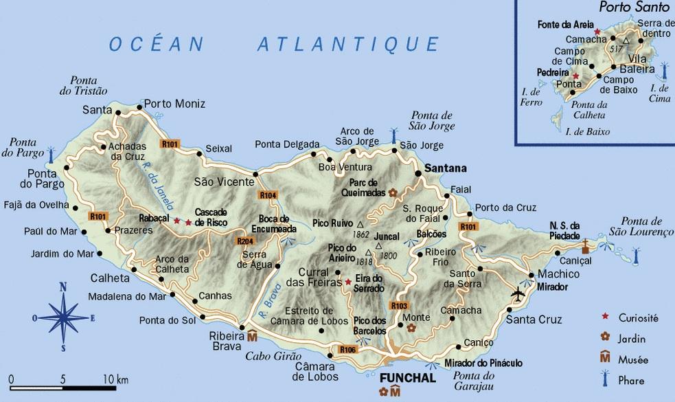 mapa madeira para imprimir Mapas de Madeira   Guía Isla Madeira | Portugal mapa madeira para imprimir