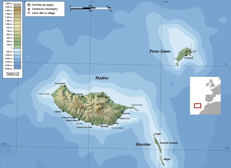 Mapas De Madeira Guia Isla Madeira Portugal