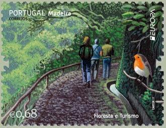 Los frutos de Madeira en la filatelia de Portugal