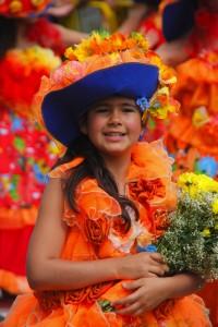 """La """"Fiesta de la Flor de Madeira es una de las fiestas más bellas del archipiélago."""
