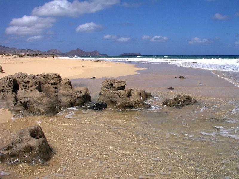 Si quieren arena hay que visitar Porto Santo. No les defraudará.